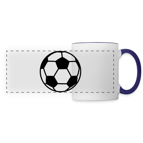 custom soccer ball team - Panoramic Mug