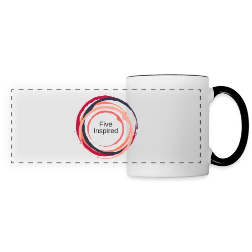 Five Inspired Logo - Panoramic Mug