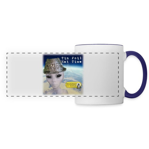 Tin Foil Hat Time (Earth) - Panoramic Mug