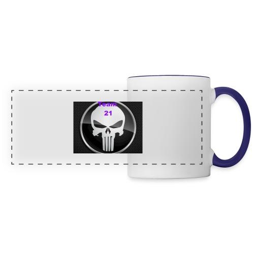 Team 21 white - Panoramic Mug