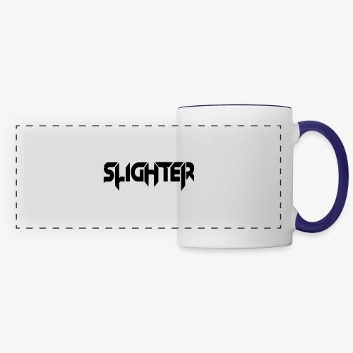 Slighter Black Logo - Panoramic Mug