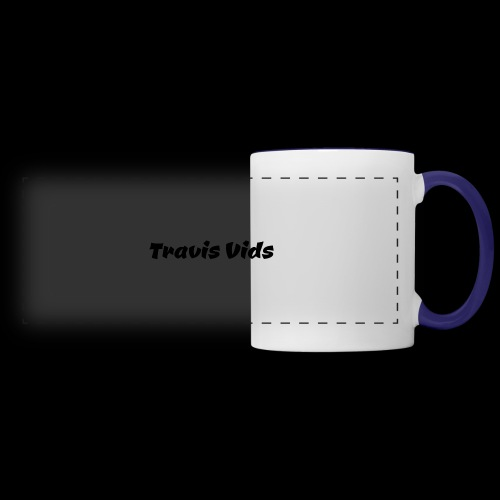 White shirt - Panoramic Mug