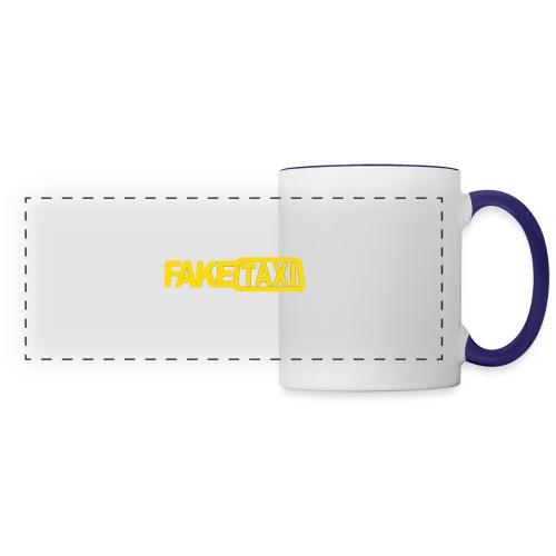 FAKE TAXI Duffle Bag - Panoramic Mug