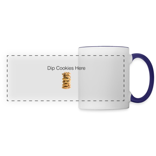 Dip Cookies Here mug - Panoramic Mug