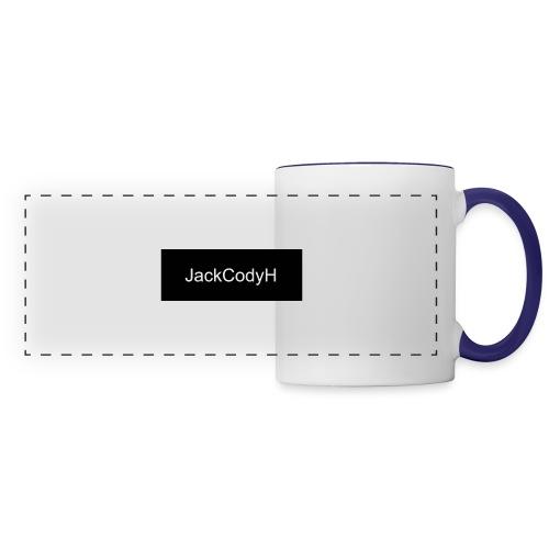 JackCodyH black design - Panoramic Mug
