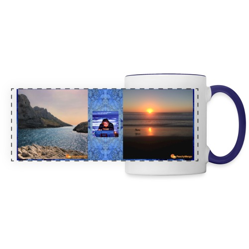 Mug with Suspended Times and Elements cover art - Panoramic Mug
