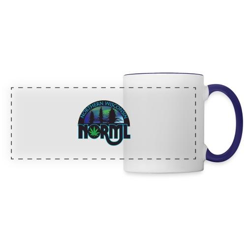 Northern Wisconsin NORML Official Logo - Panoramic Mug