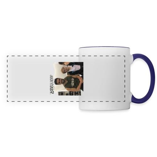 me with gorge janko - Panoramic Mug