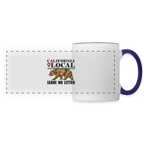 California Local Leave No Litter - Panoramic Mug