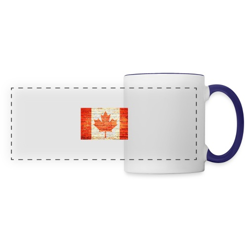 Canada flag - Panoramic Mug