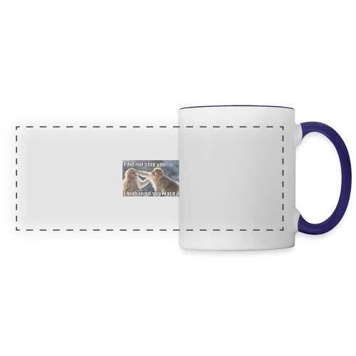 funny animal memes shirt - Panoramic Mug