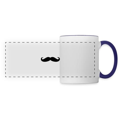 mustache - Panoramic Mug