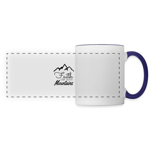 Faith Can Move Mountains - Panoramic Mug