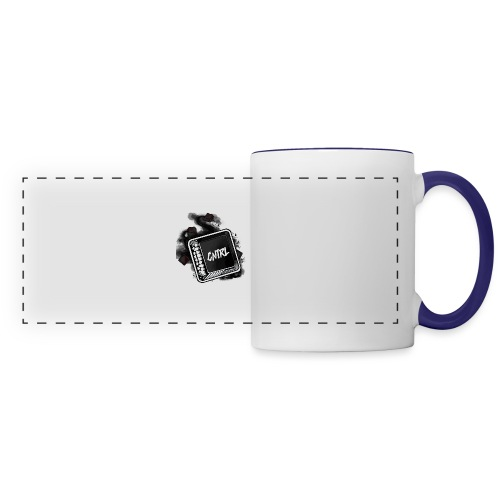 New CNTRL Logo - Panoramic Mug