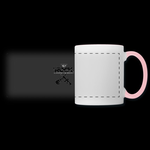 Eye Rock & Support The Troops - Panoramic Mug