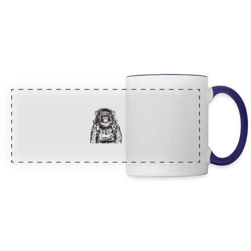 Monkey Astronaut - Panoramic Mug