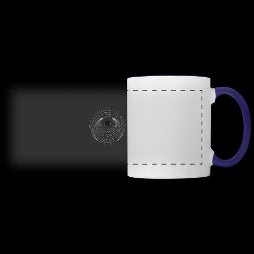 Black Dirt Vortex Logo Light - Panoramic Mug