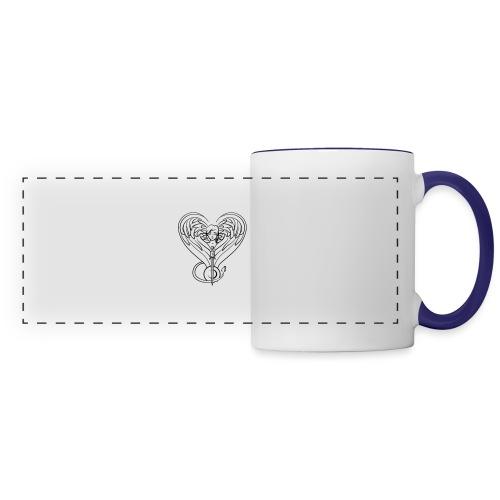 Sphinx valentine - Panoramic Mug