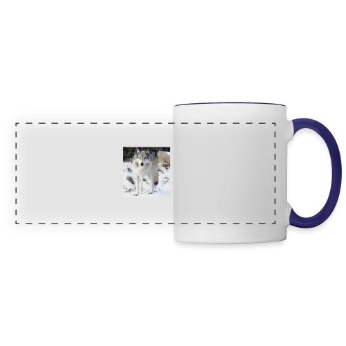 Canis lupus occidentalis - Panoramic Mug