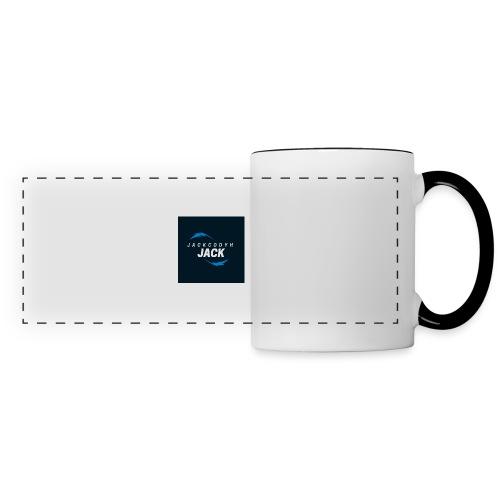 JackCodyH blue lightning bolt - Panoramic Mug