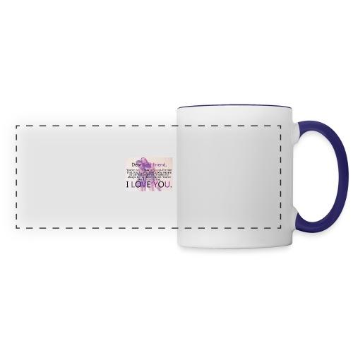 Cute best friends - Panoramic Mug