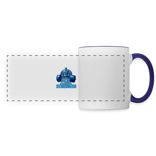 Heavy Lifting Man - Panoramic Mug