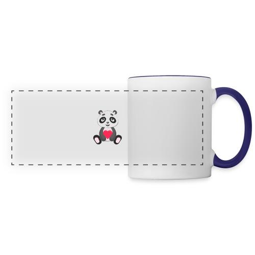 Sweetheart Panda - Panoramic Mug
