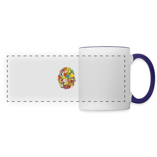 Doodle for a poodle - Panoramic Mug