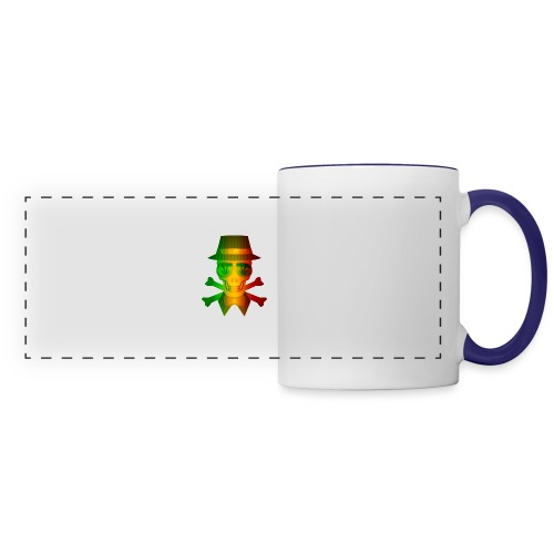 Rasta Man Rebel - Panoramic Mug