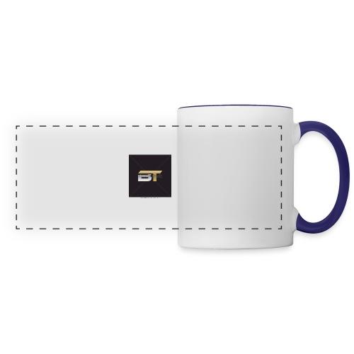 BT logo golden - Panoramic Mug