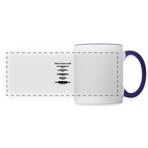 This is How I Roll - Panoramic Mug