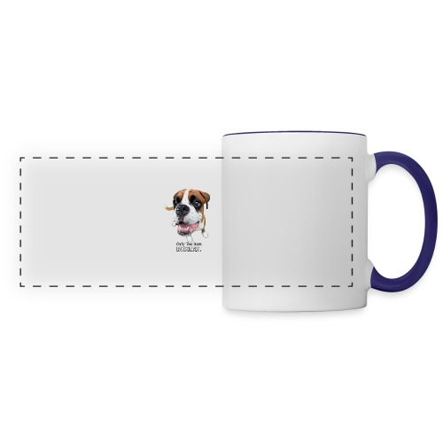 Only the best - boxers - Panoramic Mug