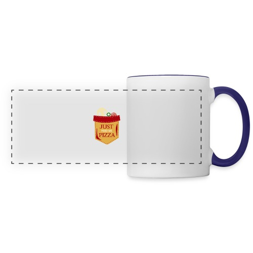 Just feed me pizza - Panoramic Mug