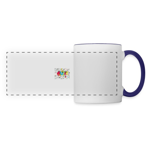 music banner - Panoramic Mug