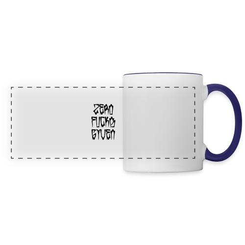 Zero Fucks Given - Panoramic Mug