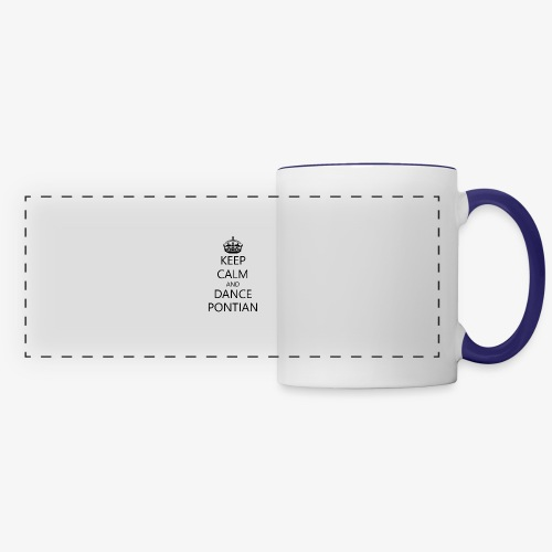 Keep Calm And Dance Pontian - Panoramic Mug