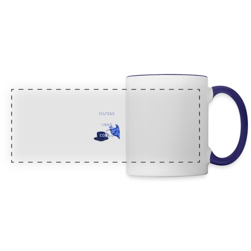 Nurses need coffee - Panoramic Mug