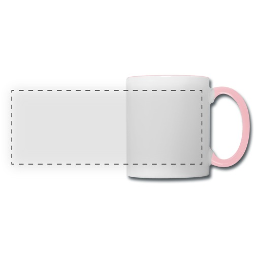 Taekwondo kick right foot - Panoramic Mug