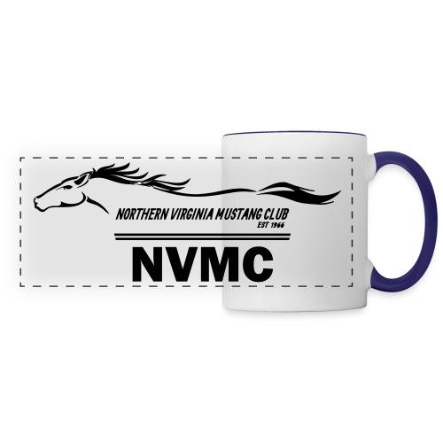 Black logo - Panoramic Mug