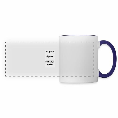 Not Quite A Square But Easily A Cube - Panoramic Mug