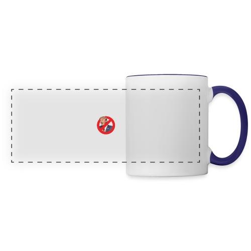 blog stop trump - Panoramic Mug