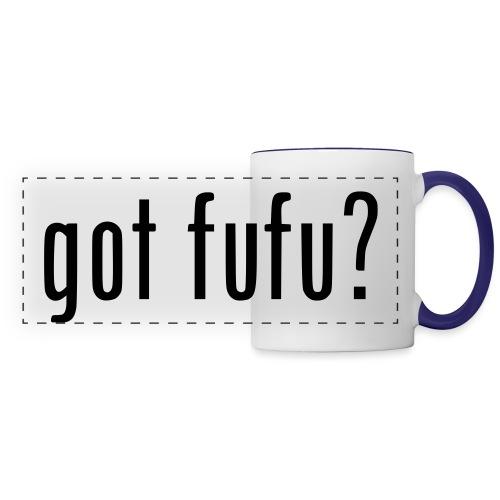 gotfufu-black - Panoramic Mug