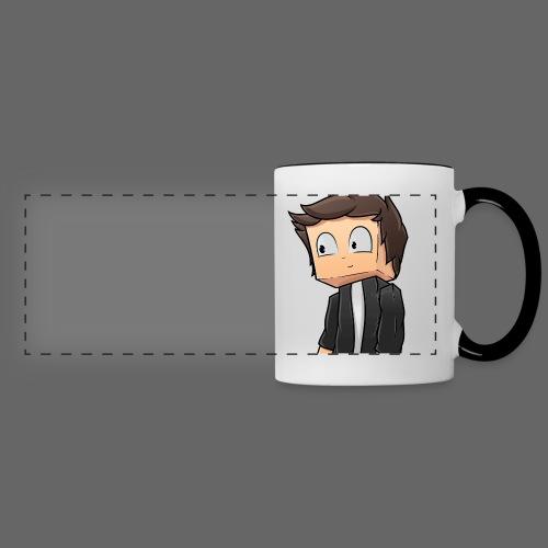MineCrafterPM Logo - Panoramic Mug