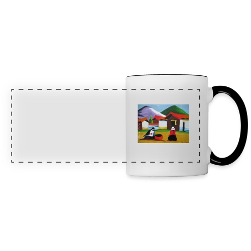 village - Panoramic Mug
