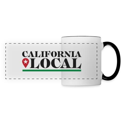 California Local Dark on Light - Panoramic Mug