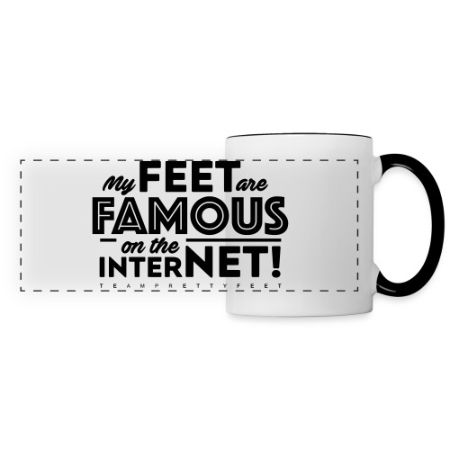 My Feet Are Famous On The Internet! - Panoramic Mug