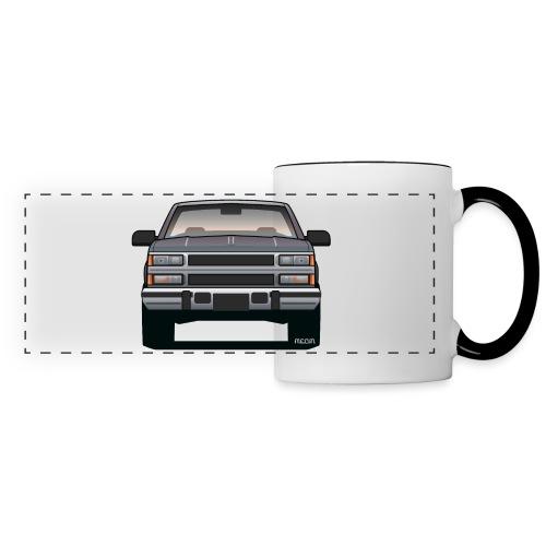 Design Icon: American Bowtie Silver Urban Truck - Panoramic Mug