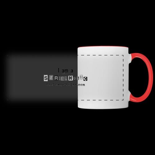 Black Serialholic Logo - Panoramic Mug