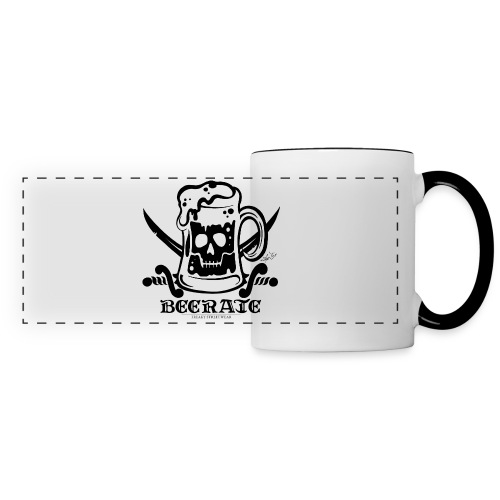 Beerate - black - Panoramic Mug