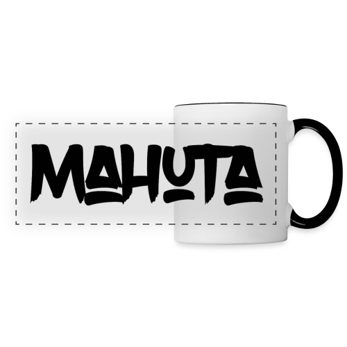 mahuta black - Panoramic Mug